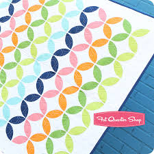 round robin quilt kit featuring bella solids by moda fabrics fat