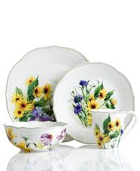 this will be my new kitchen dinnerware sunflower kitchen stuff floral meadow sunflower dishes from lenox dinnerware replacing my everyday dinnerware with these floral meadow