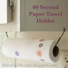kitchen towel holder ideas incredibly easy paper towel holder diy diys