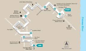 Map Route Route Map With Landmarks Dash