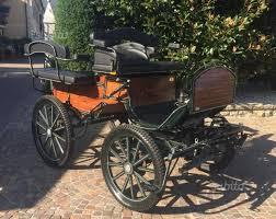 carrozze in vendita carrozza per cavallo wagonet 2 4 usata animali in vendita a brescia