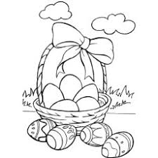 10 free printable easter basket coloring pages