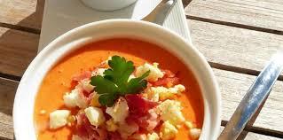 cuisine andalouse salmorejo soupe froide andalouse facile et pas cher recette