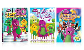 barney dvd 3 pack groupon