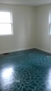 painted sub floor creative cheap fix to replace crummy carpets on