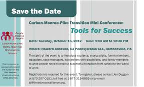 carbon monroe pike transition mini conference the advocacy alliance