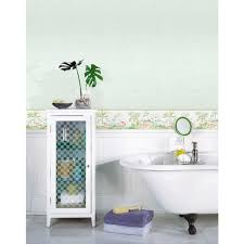 Watercolor Wallpaper For Walls by Chesapeake Lagoon Green Watercolor Wallpaper Border Sample 3113