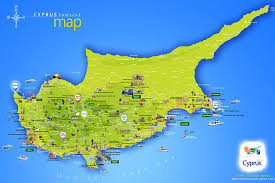 map of cyprus maps
