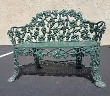 Wrought Iron Benches For Sale Cast Iron Bench Ebay