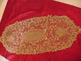 gold lace table runner shaped gold lace table runner