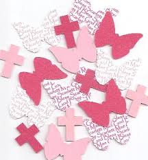 personalized holy communion decorations for butterfly baptism