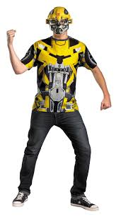 Halloween Shirt Costumes Bumblebee Transformers T Shirt Costume 50 52 In Transformers