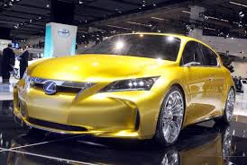 lexus lf sedan lexus lf ch production version of five door hatchback rival to