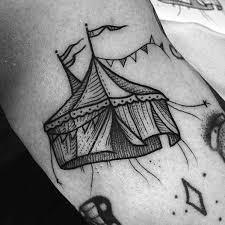60 circus tattoos for men entertaining design ideas