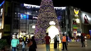 christmas lights in phoenix 2017 phoenix marketcity bangalore christmas decoration dec 2017 youtube