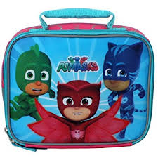 amazon disney junior pj masks save insulated lunch