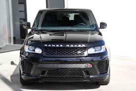 land rover car 2014 2014 land rover range rover sport svr aero package stock