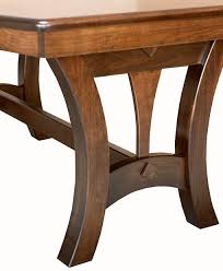grand island trestle table amish direct furniture
