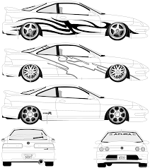 The Blueprints Com Blueprints U003e Cars U003e Acura U003e Acura Integra R