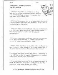 ratio word problems 6th grade printable brokeasshome com
