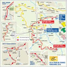 Tour De France Map by Stage 2 Live Blog The Tour De France Heads Through Addingham