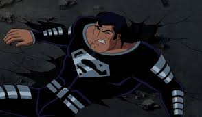 justice league u0027 superman black suit age