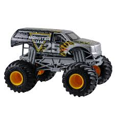 wheel monster jam trucks list 24 wheels monster jam 25th anniversary truck