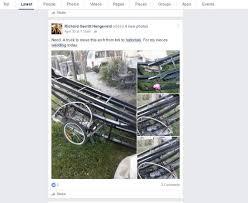 stolen trellis from sacramento u0027s mckinley park repurposed as