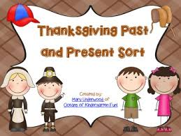 thanksgiving past and present mini pack by underwood tpt