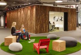 furniture remarkable officedesigns with artificial green lawn and