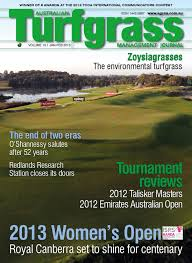 australian turfgrass management journal volume 15 1 january
