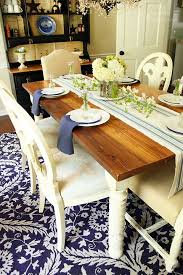 How To Build Kitchen Table by How To Build A Dining Room Table Hometalk