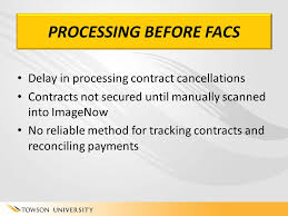 towson peoplesoft get the facs faculty automated contract system agenda