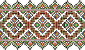 ukraine style fabric ornaments vector graphics 14 vector pattern