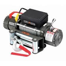 amazon com 9000 lb electric winch with automatic brake three