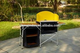 Bbq Tables Outdoor Furniture by Outdoor Furniture Travelling Cabinet Portable Folding Roll Up Bbq