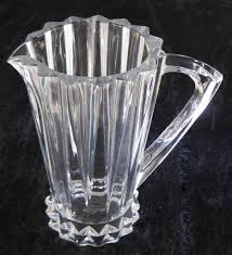 Rosenthal Glass Vase Rosenthal Crystal Pitcher In Blossom Pattern 32 Oz Capacity 8