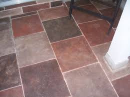 faux slate tiles she taped with auto pinstrip then used left