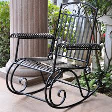 three posts snowberry iron outdoor porch rocking chair u0026 reviews