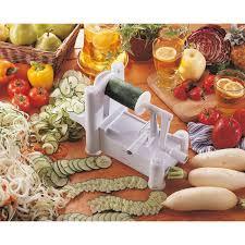 paderno cuisine spiral vegetable slicer 3 blade spiral vegetable slicer paderno hotel restaurant service