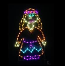 led outdoor decorations lighted thanksgiving