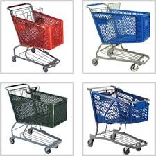 shopping home retail store grocery shopping carts plastic metal wire premier