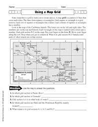 best ideas of grid map worksheets 3rd grade also free huanyii com