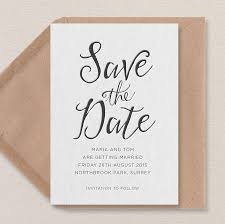 save the dates calligraphy letterpress save the date by print for