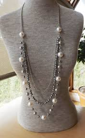 long silver pearl necklace images 2633 best jewelry inspirations pearls images jpg