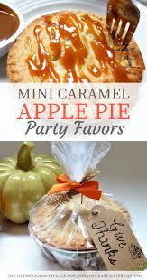 caramel apple party favors caramel apple pie party favors