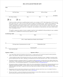 Free Sle Of Bill Of Sale For Used Car by Free Printable Bill Of Sale Sle 9 Exles In Pdf Word