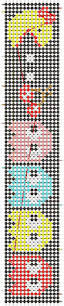 hama bead letter templates 33 best friendship bracelets i ve created images on pinterest alpha pattern 2098 added by korita