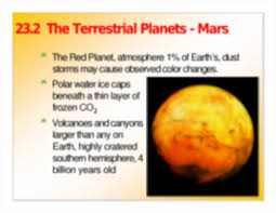 the solar system 23 1 the solar system terrestrial planets small