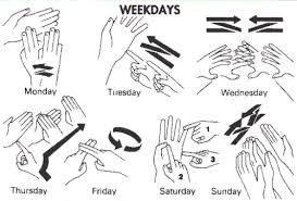 days of the week in spanish spanish simply